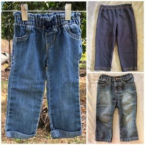 Other - 3 baby girls pants, Size 18 Months, EUC